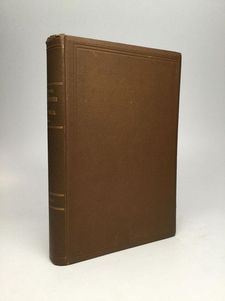 HISTORY OF POLITICAL CONVENTIONS IN CALIFORNIA, 1849-1892. Winfield J. Davis.