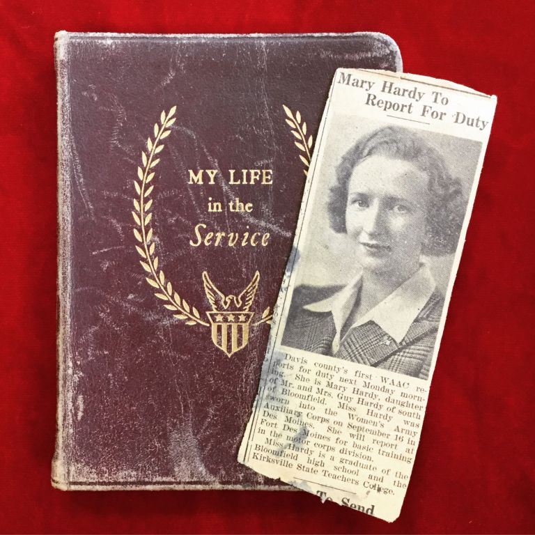 MY LIFE IN THE SERVICE. World War II – Women's Army Auxiliary Corps.