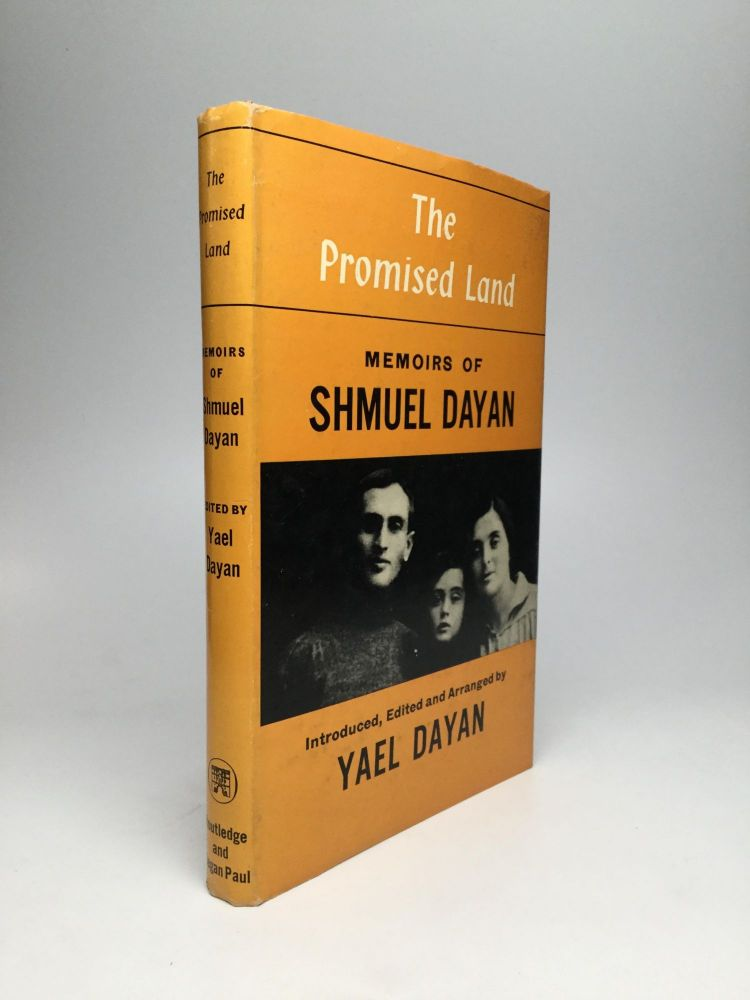 THE PROMISED LAND: Memoirs of Shmuel Dayan. Shmuel Dayan.