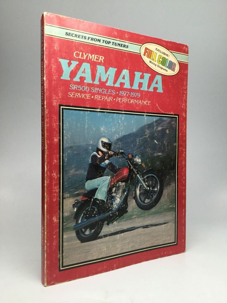 view image 1 of 1 for yamaha sr500 singles, 1977-1979: service,