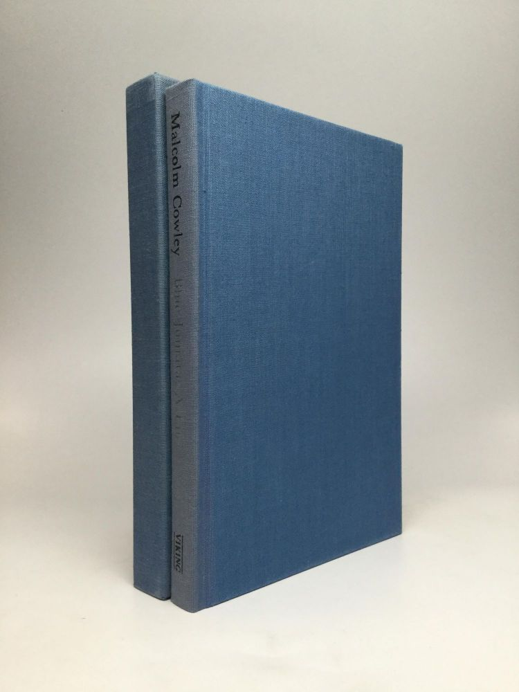 BLUE JUNIATA: A Life - Collected and New Poems. Malcolm Cowley.