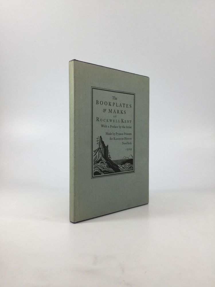 THE BOOKPLATES & MARKS OF ROCKWELL KENT, With a Preface by the Artist. Rockwell Kent.