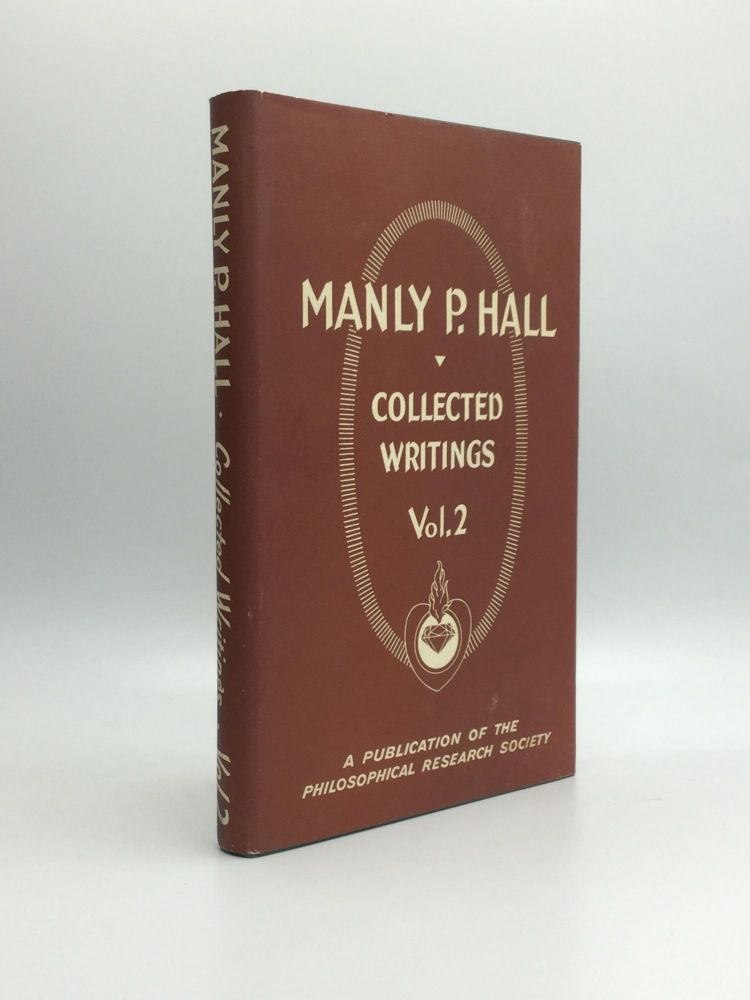 COLLECTED WRITINGS OF MANLY P. HALL, Volume 2: Sages and Seers. Manly P. Hall.