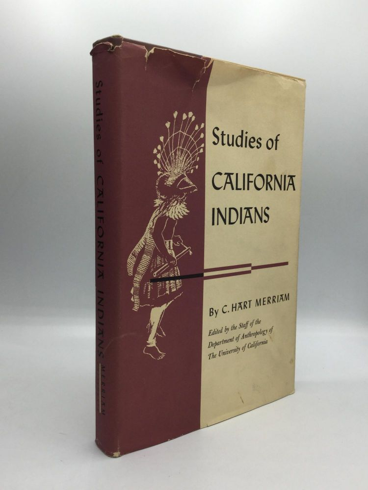 STUDIES OF CALIFORNIA INDIANS. C. Hart Merriam.