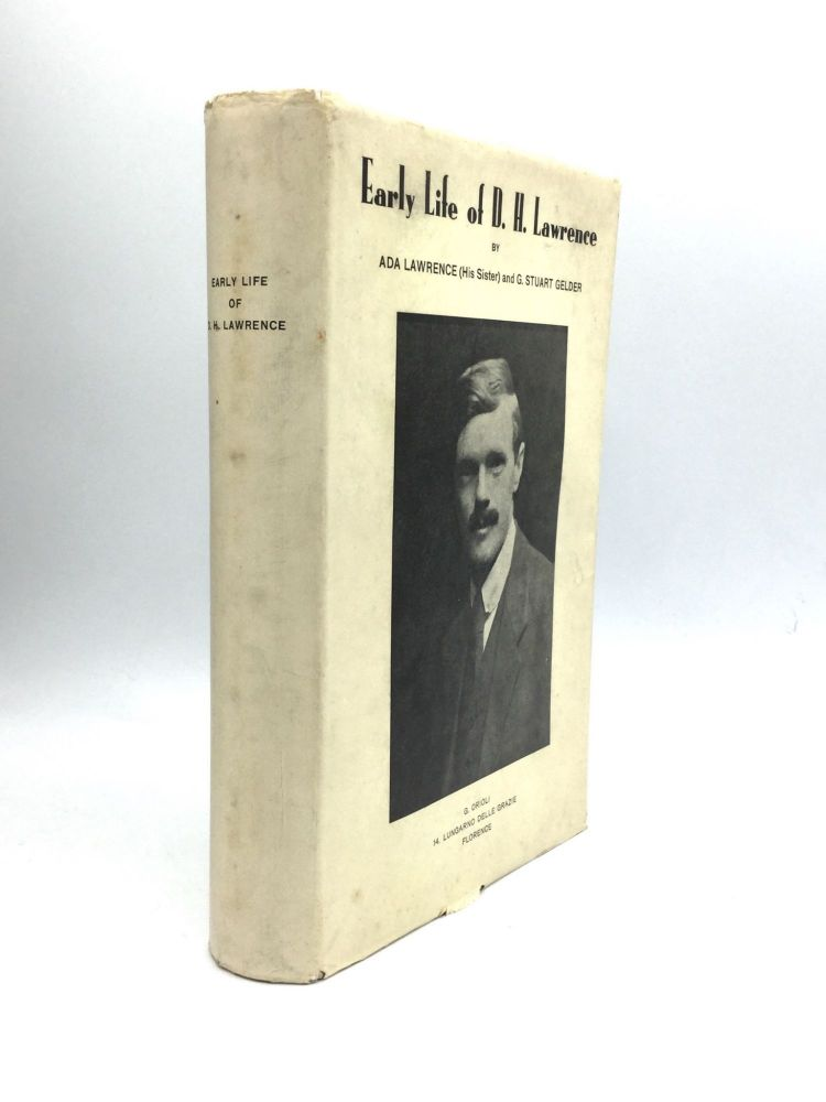 YOUNG LORENZO: Early Life of D.H. Lawrence, Containing Hitherto Unpublished Letters, Articles and Reproductions of Pictures. Ada Lawrence, G. Stuart Gelder.