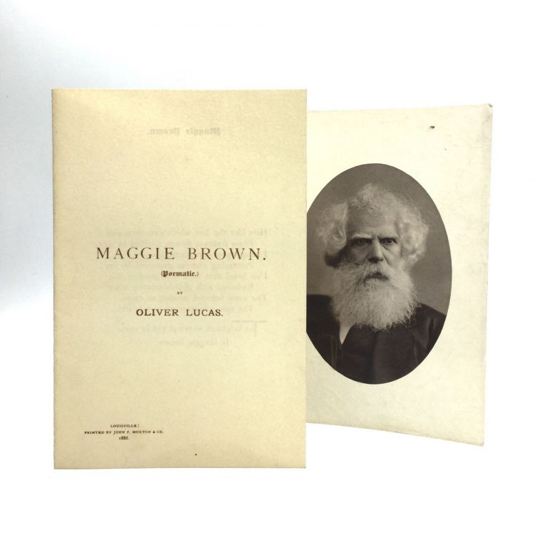 MAGGIE BROWN: Poematic. Oliver Lucas.