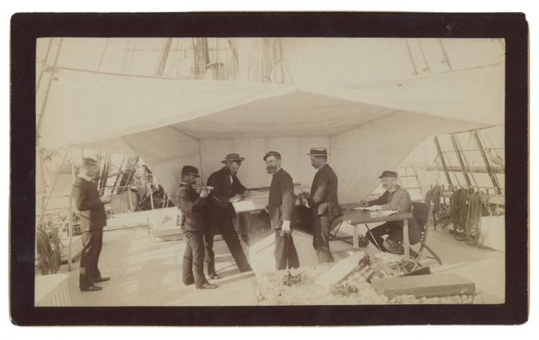 ORIGINAL PHOTOGRAPHS FROM THE 1889-90 SURVEY OF THE LOWER CALIFORNIA BY THE U.S.S. RANGER. Lieutenant Oswin W. Lowry, Photographer.