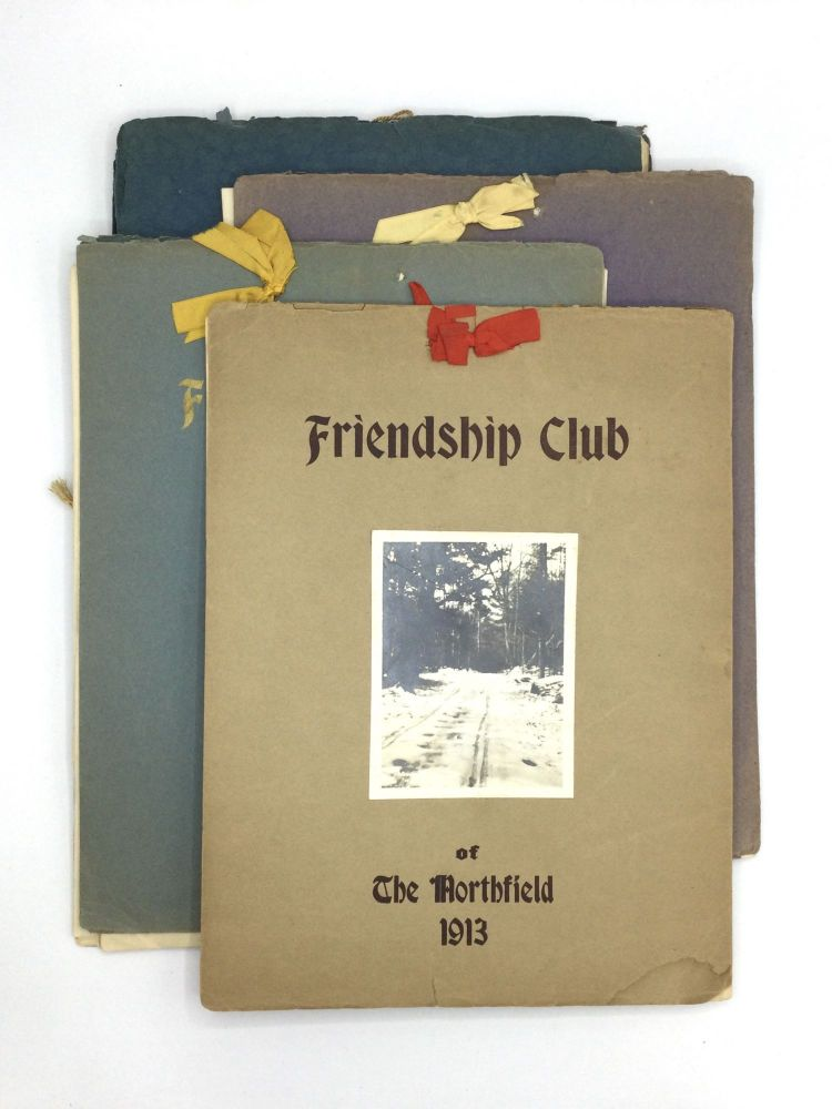 TURN OF THE CENTURY FRIENDSHIP CLUB REPORTS. Friendship Club of The Northfield.