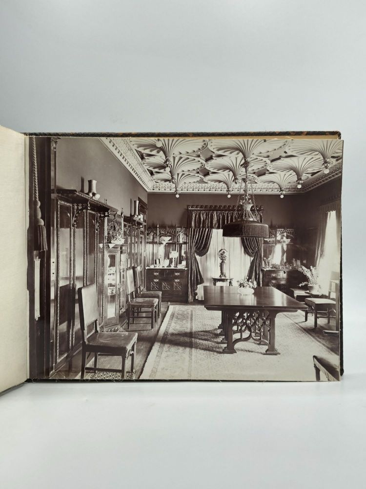 BESPOKE PHOTO ALBUM OF A CHICAGO HOME DESIGNED BY A LEADING ARCHITECT. Benjamin H. Marshall, 1874–1944.