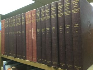 LIST OF THE PRINTED BOOKS IN THE LIBRARY OF THE HISPANIC SOCIETY OF AMERICA