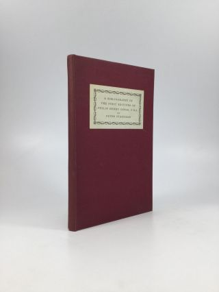 A Bibliography of the First Editions of Philip Henry Gosse, F.R.S. Peter Stageman.