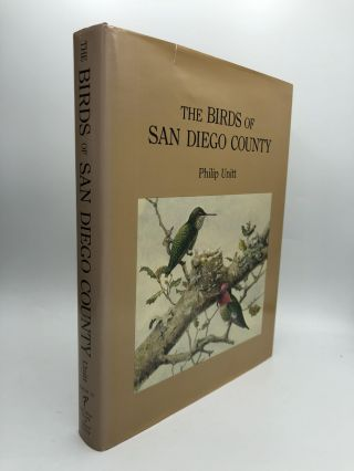 THE BIRDS OF SAN DIEGO COUNTY. Philip Unitt