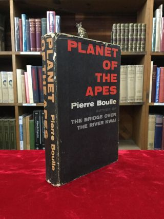 PLANET OF THE APES. Pierre Boulle.