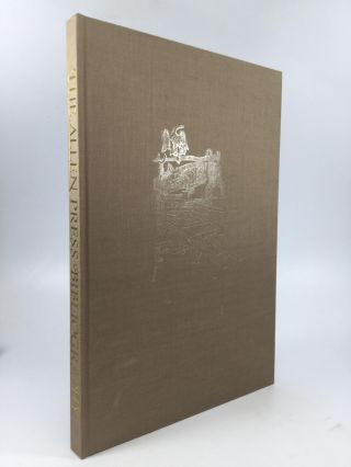 THE ALLEN PRESS BIBLIOGRAPHY: A Facsimile with Original Leaves and Additions to Date, Including a...