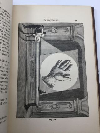 THE ART OF PROJECTING: A Manual of Experimentation in Physics, Chemistry, and Natural History with the Porte Lumiere and Magic Lantern