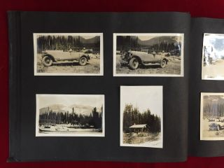 1920s PHOTOGRAPHIC ALBUM OF NATIONAL PARKS IN THE U.S. AND CANADA