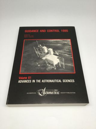 GUIDANCE AND CONTROL 1986. Robert D. Culp, John C. Durrett