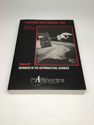GUIDANCE AND CONTROL 1993. Robert D. Culp, George Bickley