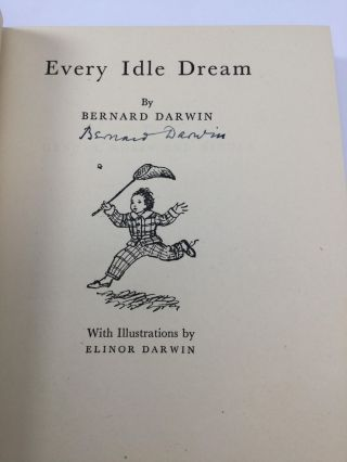 EVERY IDLE DREAM