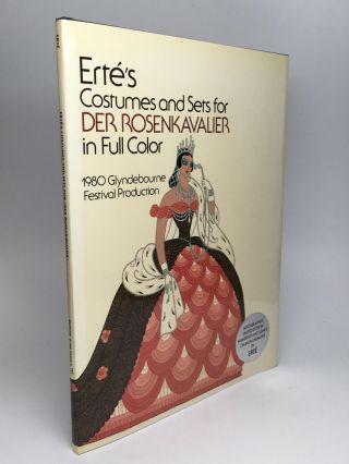 ERTE'S COSTUMES & SETS FOR DER ROSENKAVALIER IN FULL COLOR. Erte, born Romain de Tirtoff