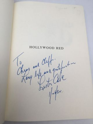 HOLLYWOOD RED: The Autobiography of Lester Cole