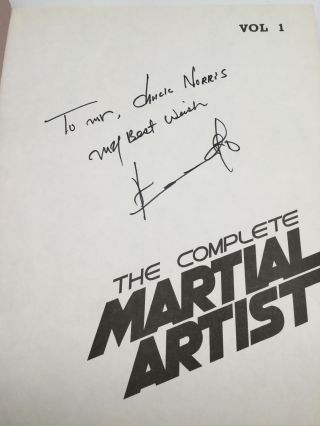 THE COMPLETE MARTIAL ARTIST: Vol. 1 and 2