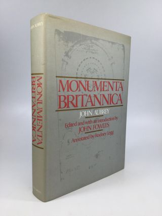 MONUMENTA BRITANNICA or A Miscellany of British Antiquities [Part One and Two]: Edited by John...