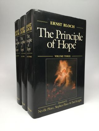 THE PRINCIPLE OF HOPE: Translated by Neville Plaice, Stephen Plaice and Paul Knight