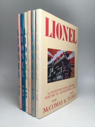 LIONEL: A Collector's Guide and History to Lionel Trains. Tom McComas, James Tuohy.