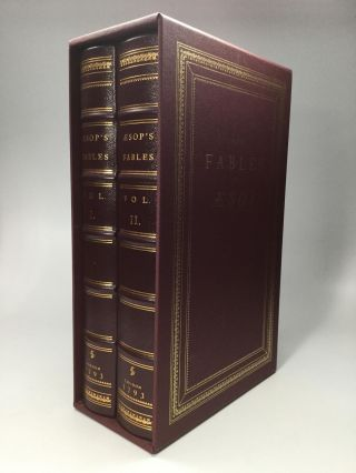 THE FABLES OF AESOP: Easton Press Deluxe Limited Edition, with 112 Engraved Illustration Plates...