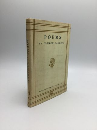 POEMS. Clinch Calkins