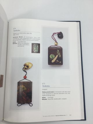 THE VIRGINIA ATCHLEY COLLECTION OF JAPANESE MINIATURE ARTS