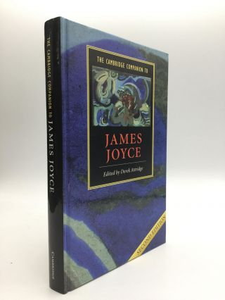 THE CAMBRIDGE COMPANION TO JAMES JOYCE. Derek Attridge