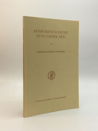 APHRODITE'S ENTRY INTO GREEK EPIC. Deborah Dickmann Boedeker