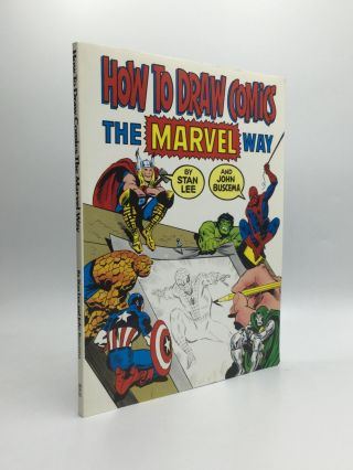 HOW TO DRAW COMICS THE MARVEL WAY. Stan Lee, John Buscema