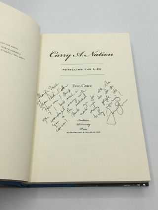 CARRY A. NATION: Retelling the Life