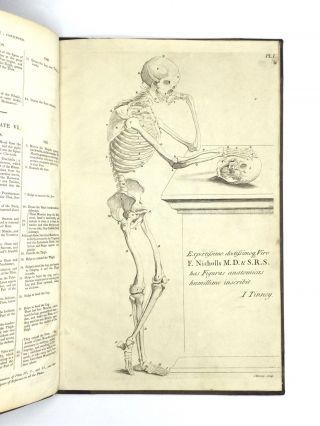 A COMPENDIOUS TREATISE OF ANATOMY, Adapted to the Arts of Designing, Painting, and Sculpture, on Ten Folio Copper-Plates; and in which the External Muscles and Bones of the Human Body are Represented as They Appear in the Best Chosen Attitudes, When Cleared of the Skin, the Membrana Adiposa, and the Veins and Arteries That Live on Their Surface. Designed and Composed by the Aid of the Best Anatomical Tables Extant; with a Concise and Clear Explanation, Showing the Names of the Different Parts, with Their Origin, Insertion, and Use. To which have been added, the Names as Adopted in Modern Surgery. A Work Not Only Useful, but Absolutely Necessary, to Painters, Statuaries, Professors, and Learners, of Drawing and Design.