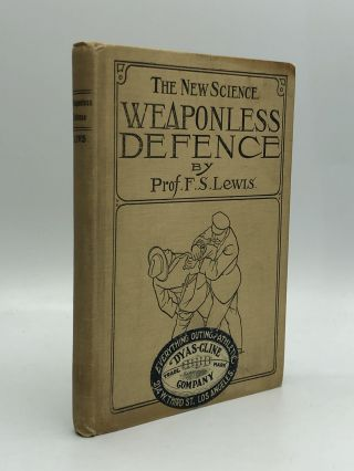 The New Science WEAPONLESS DEFENSE: Illustrations by Prof. Lewis, Tommy Burns, heavy weight...