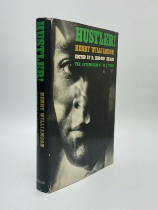 HUSTLER! The Autobiography of a Thief. Henry Williamson