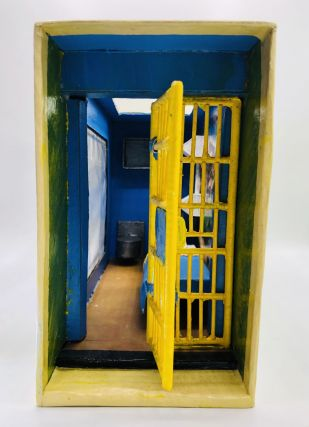 SCALE MODEL OF A SAN QUENTIN PRISON CELL BY THE SACRAMENTO SLAYER