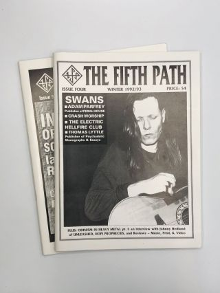 THE FIFTH PATH: Issue 4, 5. Robert Ward