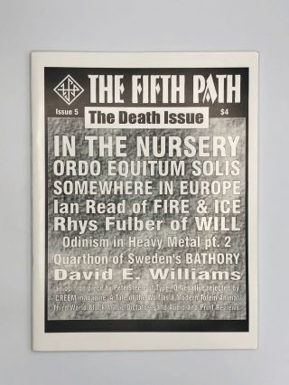 THE FIFTH PATH: Issue 4, 5
