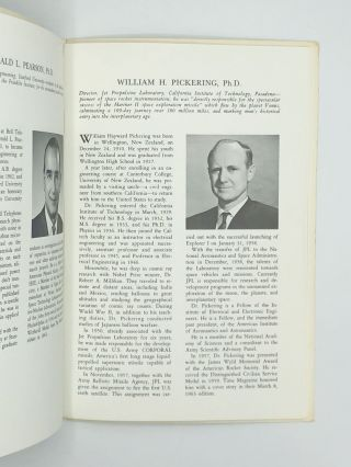 SCRAPBOOKS AND PHOTO ALBUMS OF LONGTIME HEAD OF NASA'S JET PROPULSION LABORATORY. William Hayward...