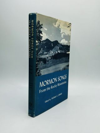 MORMON SONGS: From the Rocky Mountains. Thomas E. Cheney