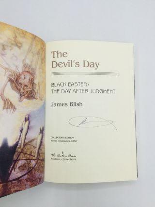 THE DEVIL'S DAY: Black Easter / The Day After Judgment