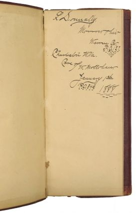 DIARY OF THE 1888 DEMOCRATIC NATIONAL CONVENTION