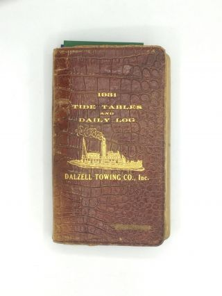 HOLOGRAPHIC JOURNAL KEPT BY A NEW YORK MAN WHO SERVED AS A CADET ON A MERCHANT SHIP. Erich Pam