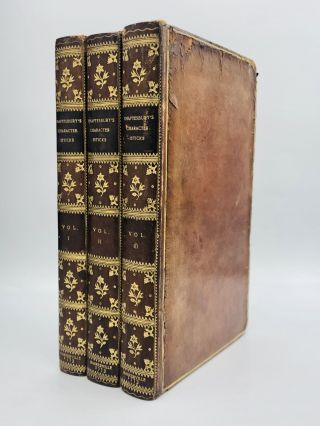 CHARACTERISTICKS OF MEN, MANNERS, OPINIONS, TIMES. The Fifth Edition. 3rd Earl of Shaftesbury...