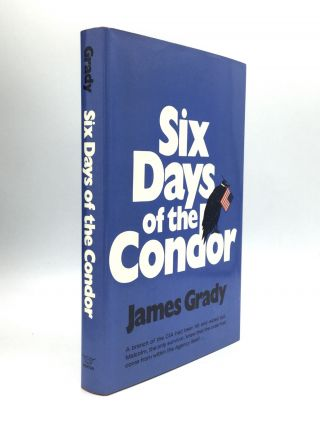 SIX DAYS OF THE CONDOR: Advance Review Copy and First Edition. James Grady