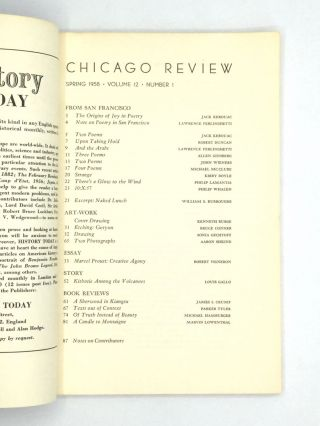 CHICAGO REVIEW: Spring 1958 - Volume 12, Number 1